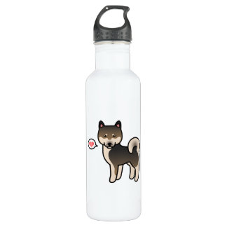 Shiba Inu Sesame Love 710 Ml Water Bottle