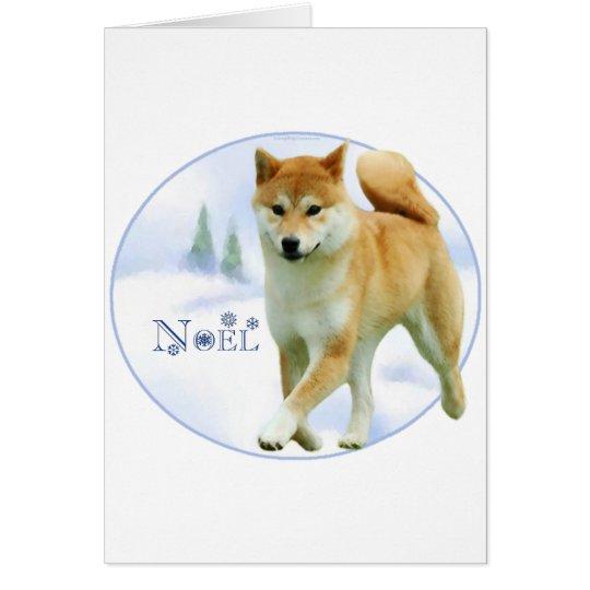 Shiba Noel Card