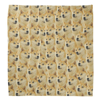 shibe doge fun and funny meme adorable bandana