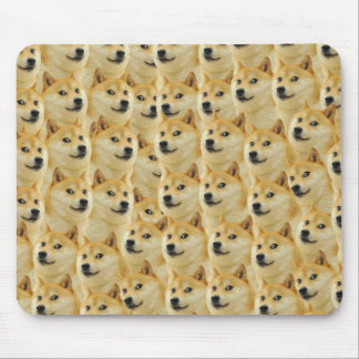 shibe doge fun and funny meme adorable mouse mat