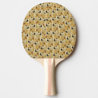 shibe doge fun and funny meme adorable ping pong paddle