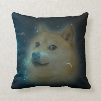 shibe doge in space cushion