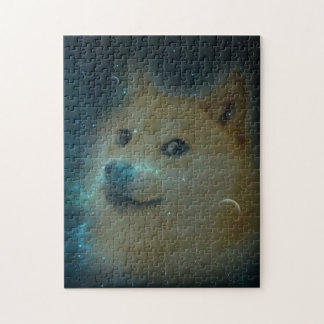 shibe doge in space jigsaw puzzle