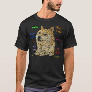 Shibe Typography T-Shirt
