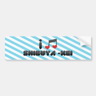 Shibuya -Kei Bumper Sticker