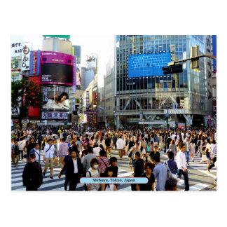 Shibuya, Tokyo, Japan Postcard