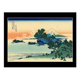 Shichiri beach in Sagami Province (by Hokusai) Postcard