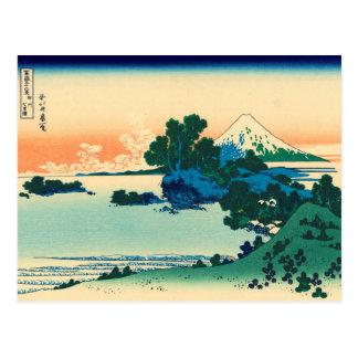 Shichiri beach in Sagami Province Post Card