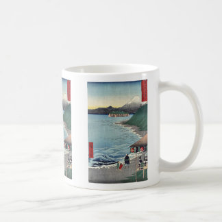 Shichirigaham by Ando,Hiroshige Coffee Mugs