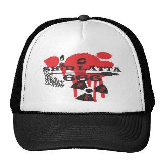 Shid Latta 666 LOGO snapback Mesh Hats