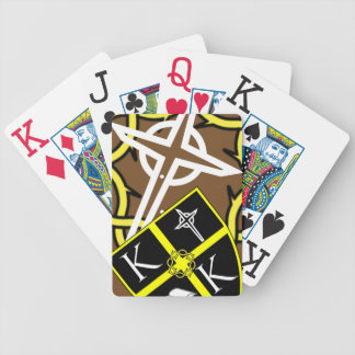 Shield and Cross Playing Cards