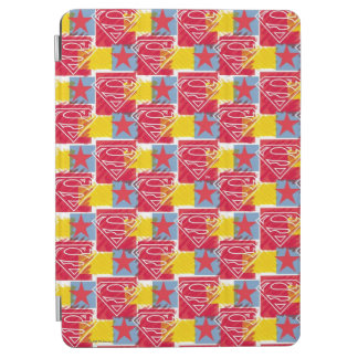 Shield and Star Pattern iPad Air Cover