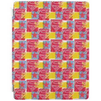 Shield and Star Pattern iPad Cover