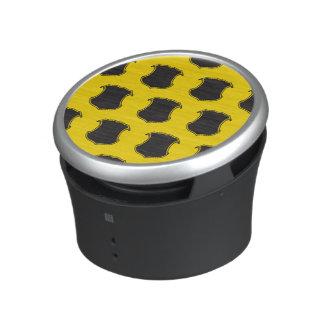 Shield Crest Black Yellow.ai Bluetooth Speaker