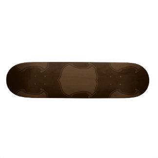 Shield Crest Brown Skateboard Decks