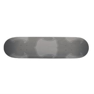 Shield Crest Greys Custom Skateboard