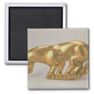Shield emblem in the form of a panther magnet