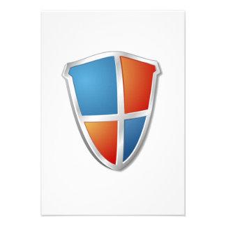 Shield Invitation