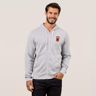 shield logo hoodie
