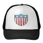 Shield logo trucker hat