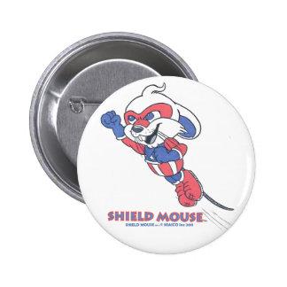 SHIELD MOUSE PIN