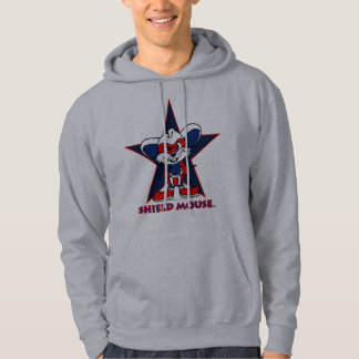 """SHIELD MOUSE  """"The Star!"""" Hoodie"""