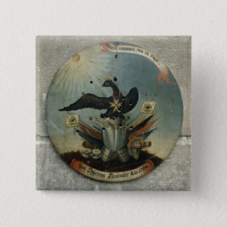 Shield of a Prussian officer, 1764 15 Cm Square Badge
