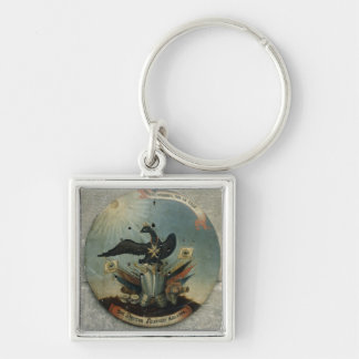 Shield of a Prussian officer, 1764 Key Ring