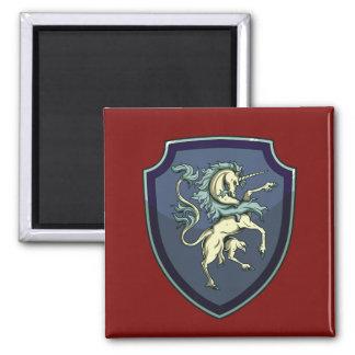 Shield of the Unicorn Magnet