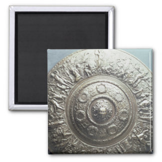 Shield with the head of Medusa, 1552 Square Magnet