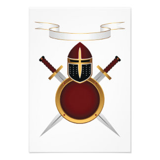 Shields and Swords Invitations