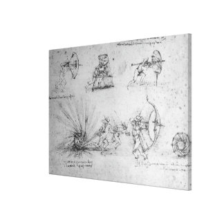 Shields for Foot Soldiers and an Exploding Canvas Print