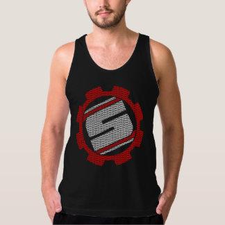 SHIFT: Gear Logo Tank Black/Red