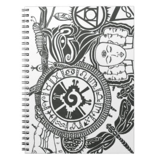 Shifting Perspectives Spiral Note Book