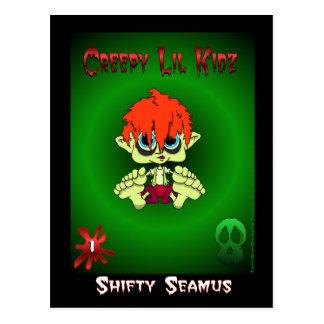 Shifty Seamus card 1 Postcard