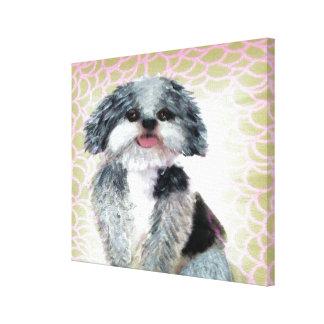 Shih-Poo Canvas Print