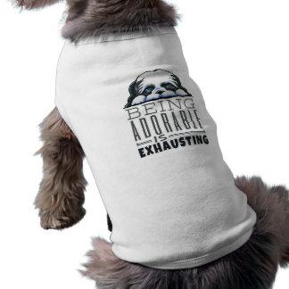 Shih Tzu Being Adorable Doggie T-shirt