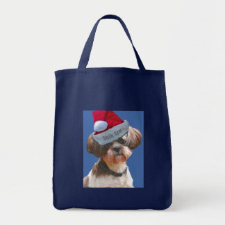 "Shih Tzu ""Betsy"" Christmas Tote"