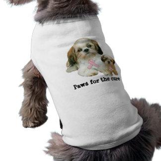 Shih Tzu Breast Cancer Pet Clothing