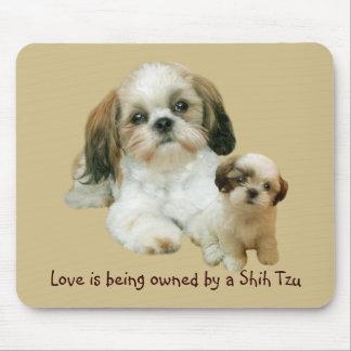 Shih Tzu Buddies Mousepad