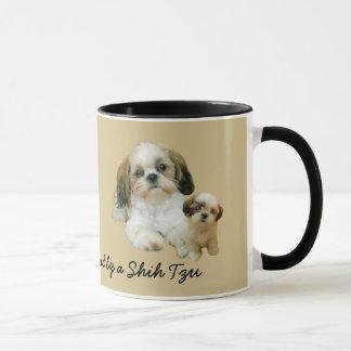 Shih Tzu Buddies Mug