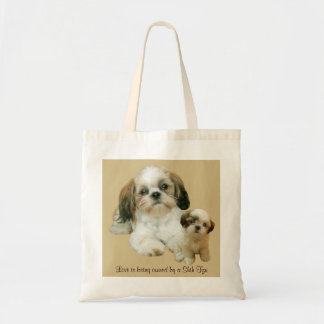 Shih Tzu Buddies Tote Bag