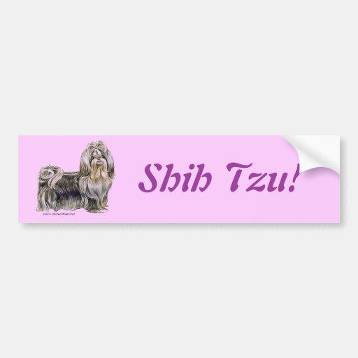 Shih Tzu Bumper Stickers
