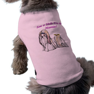 Shih-tzu Camiseta Para Caes