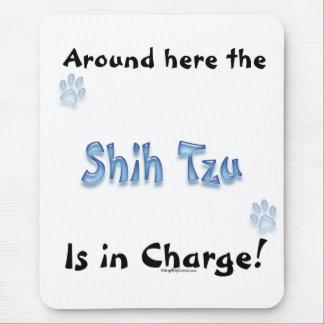 Shih Tzu Charge Mouse Mat