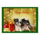 Shih Tzu  Christmas Card Gifts