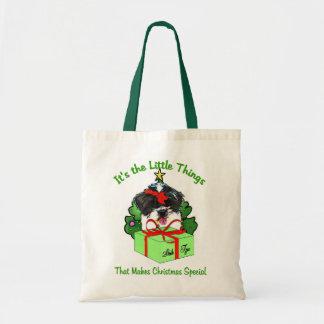 Shih Tzu Christmas Gifts Tote Bag