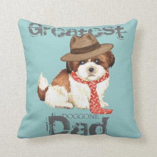 Shih Tzu Dad Cushion