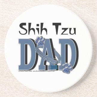 Shih Tzu DAD Drink Coasters