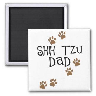 Shih Tzu Dad Refrigerator Magnets